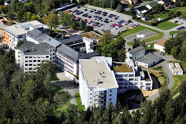 Das Klinikum Obergöltzsch Rodewisch